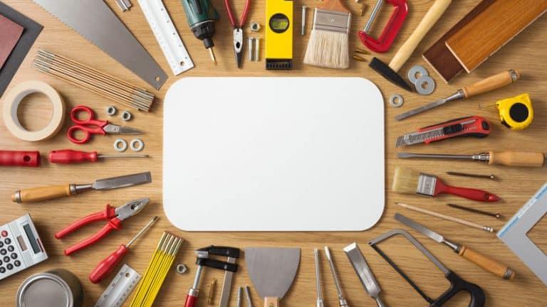 Bricolage : que faut-il absolument avoir dans sa caisse à outils ?